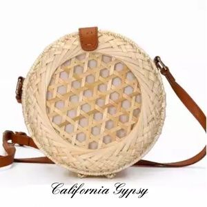 Handbags - JUST IN🎉boho Rattan festival gypsy bag